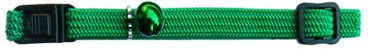 Beau Pets COLLAR CAT ELASTIC GREEN