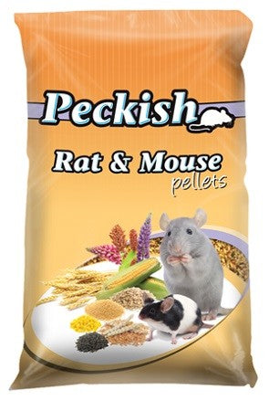 PECKISH RAT AND MOUSE PELLETS 1KG