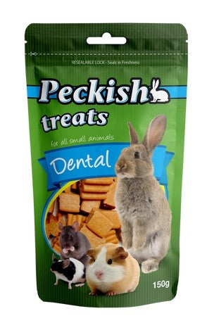 PECKISH TREAT DENTAL 150G