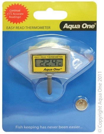 Easy Read LCD Thermometer Inside Tank