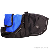 Dog Coat Blizzard 40cm H Duty W Proof Refl Blue