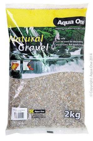 Natural Gravel Gold Mix 2kg