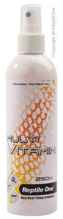 MULTI-VITAMIN & MINERAL SPRAY REPTILE 250ML