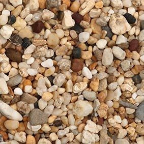 Natural Gravel Australian Multi Brown 4-6mm Mix 2kg