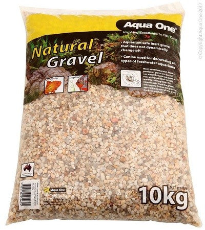 Natural Gravel Australian Gold Light 4-6mm Mix 10kg