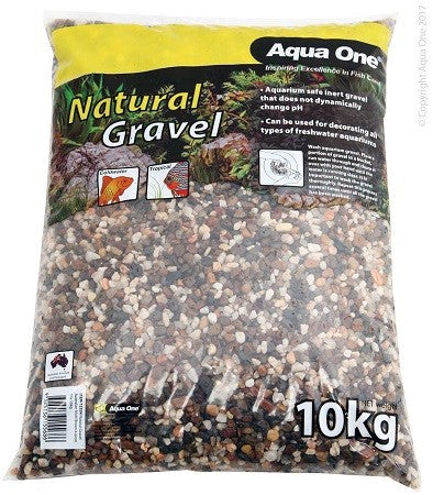 Natural Gravel Australian Multi Brown 4-6mm Mix 10kg