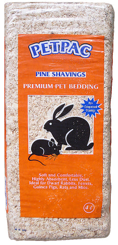 PINE SHAVINGS COMPRESSED 4LT
