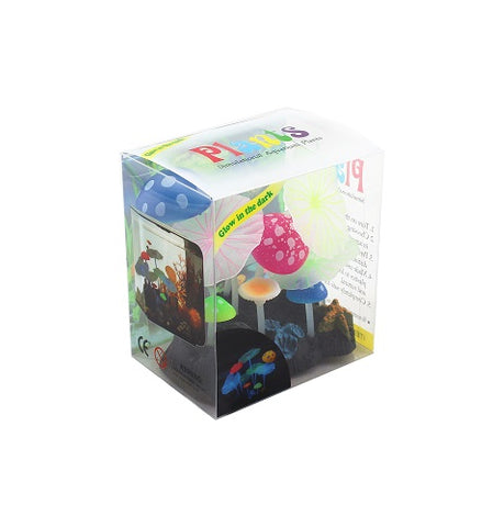 Lotus Garden with Mushroom - Clear Boxed