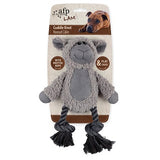 Cuddle Dental Sheep with Rope Dog Toy (31x23cm)