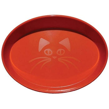 SCREAM BOWL CAT OVAL ORANGE 300ML