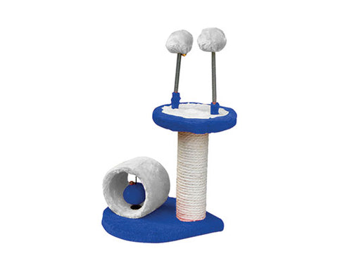 SCRATCH POST NO 6 BLUE/GREY