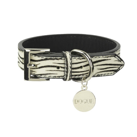 DOGUE COLLAR PONY ZEBRA MEDIUM