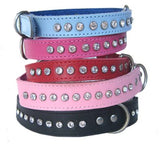 DOGUE COLLAR GLAMOUR RED 35