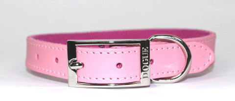 DOGUE COLLAR PLAIN JANE PINK 55CM