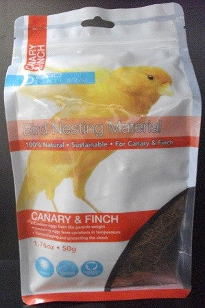 BIRD NATURAL BIRD NESTING MATERIAL CANARY AND FINCH 50G