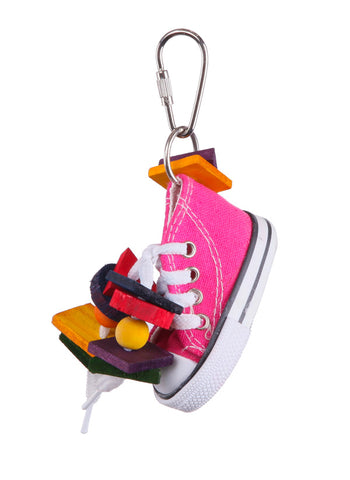 BIRD TOY w/SNEAKER & CHIPS SMALL