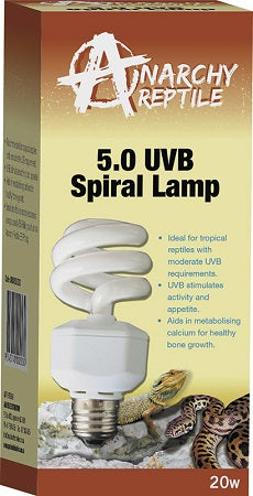 ANARCHY SPIRAL LAMP UVB 5.0 13W