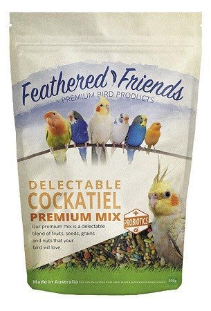 FEATHERED FRIEND COCKATIEL PREM MIX 1.8KG