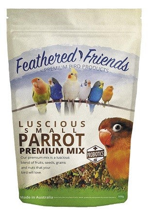 FEATHERED FRIENDS SMALL PARROT SEED 1.8K