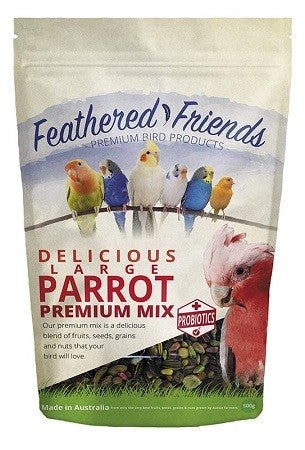 FEATHERED FRIENDS LARGE PARROT MIX 500G