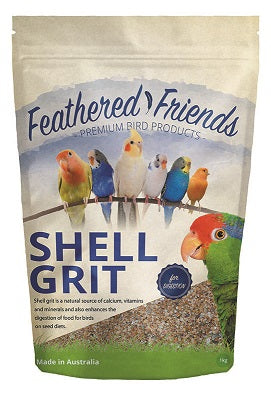 FEATHER F SHELL GRIT 1KG