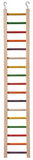 FEATHERED FRIENDS PARROT LADDER 17 RUNGS 91X15CM