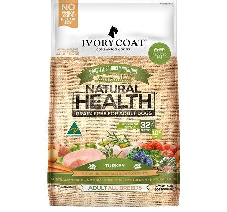 IVORY COAT REDUCED FAT/SENIOR TURKEY 2KG