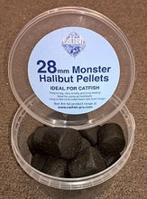 Load image into Gallery viewer, Monster Halibut Pellets 28mm Solid