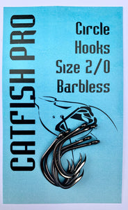 Circle Hooks Size 2/0 - 6/0 (Barbless)
