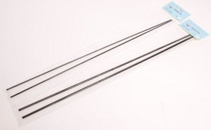 Stiff Carbon Tubing Wide Bore 50cm Long (2 Pack)