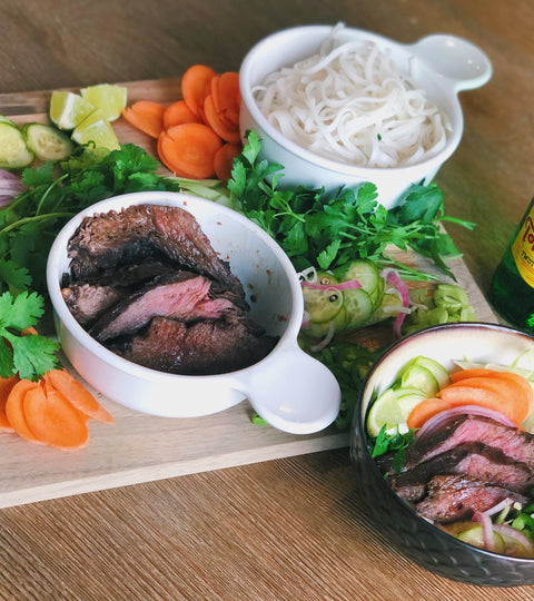 Bavette Steak Asian Bowls