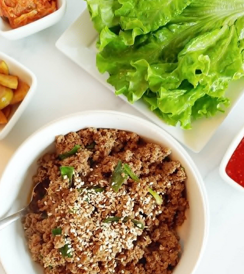 Weeknight Beef Bulgogi Lettuce Wraps