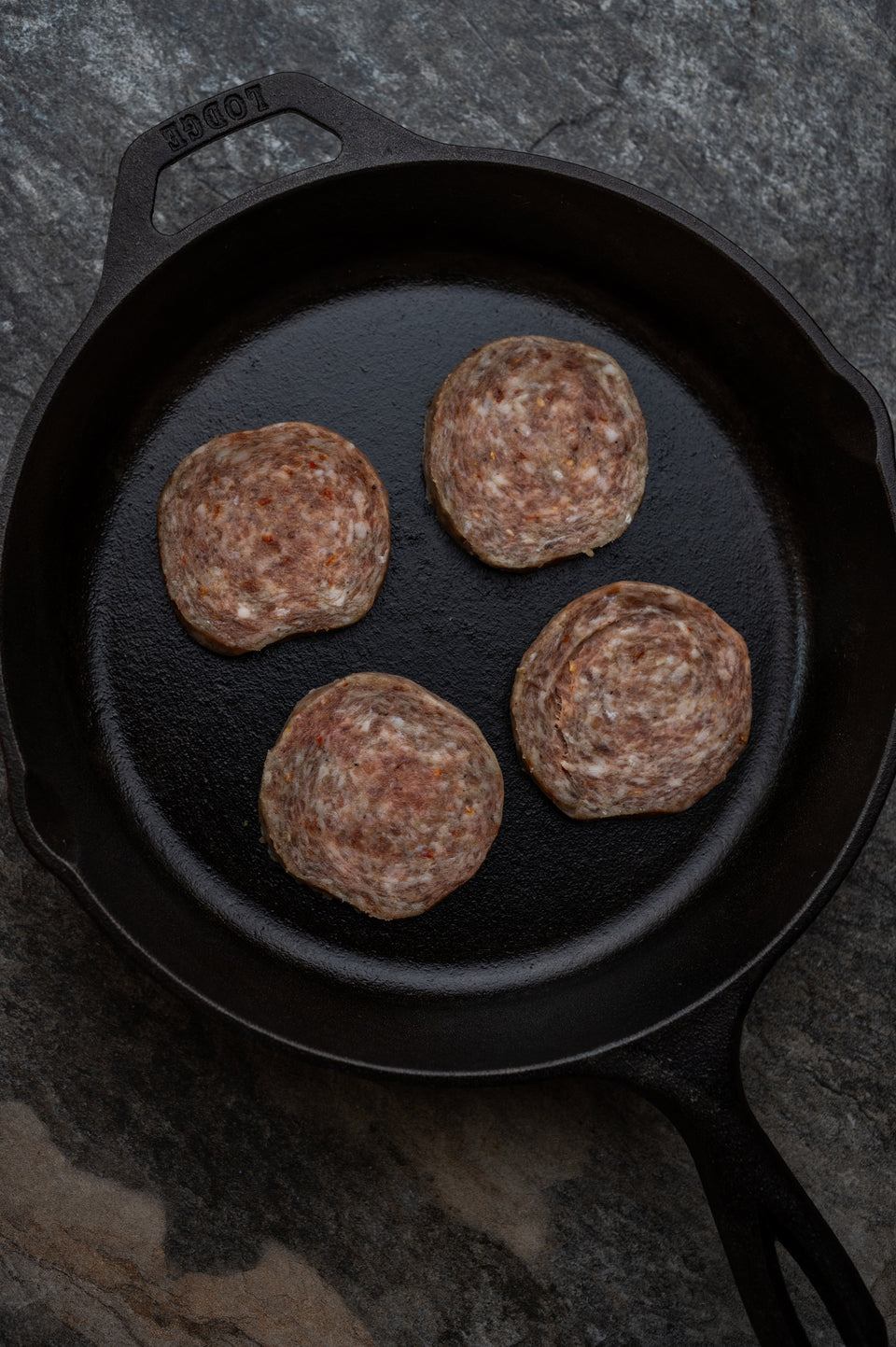 Hot Sausage Patties (1 lb.)
