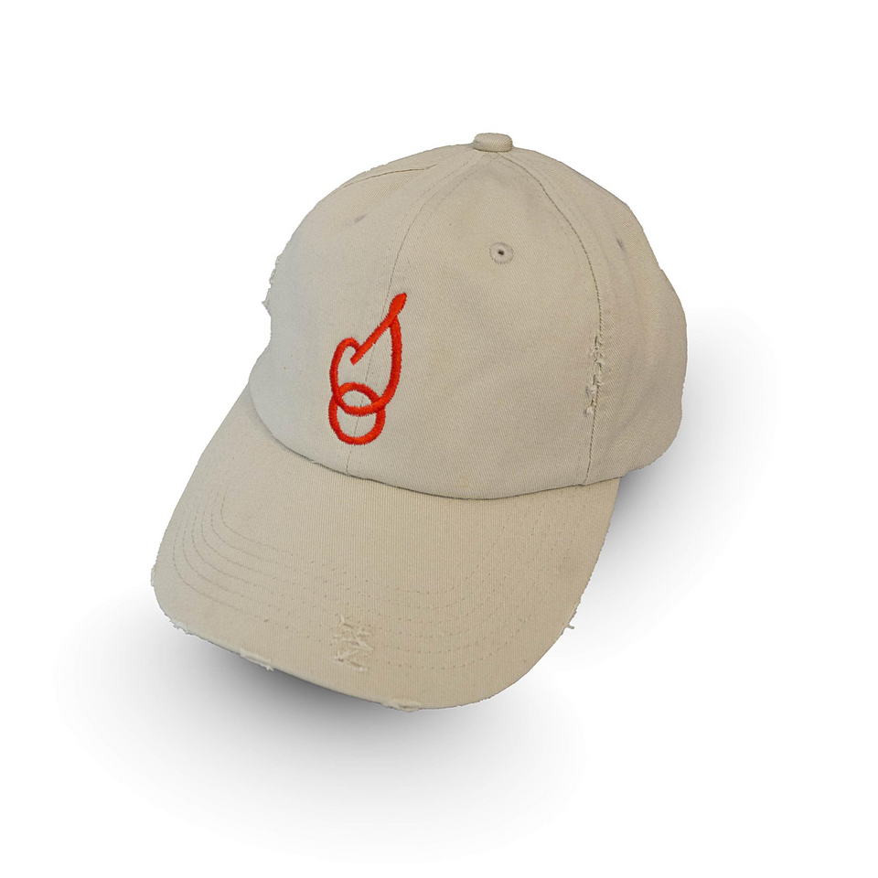 Smokin' Oaks Distressed Ball Cap