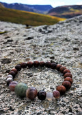 Focus Bracelet on rock men's handmade beaded bracelets from your premier jewelry dealer