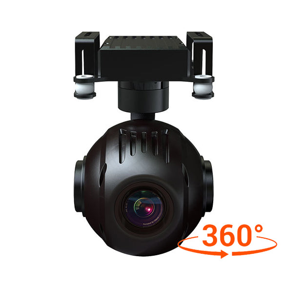 INYYO-20W 20x 360° Optical Zoom Camera with 3-Axis Gimbal