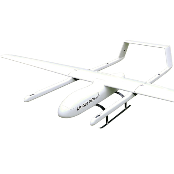 Mugin-4 Pro 4000mm H Tail Full Carbon Fiber VTOL UAV Platform