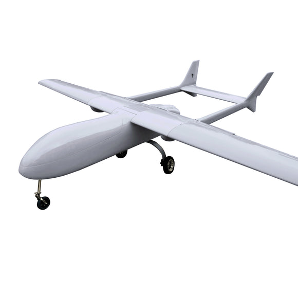 Super Huge MUGIN 4450mm UAV H-tail Plane Platform w/ Disc Brake System