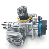 DLE 60CC TWIN UAV ENGINE With 14V 80w/180w Power Generator System