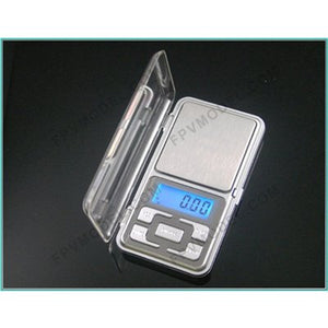 MH-Series 200g/0.01g Digital Pocket Scale Silver