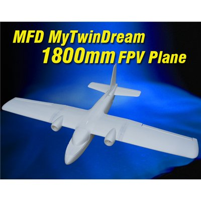 MyTwinDream 1800mm FPV Plane
