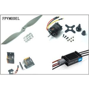 Skywalker x7/x8 flying wing power combo (Motor, ESC, Props and Servos kit)