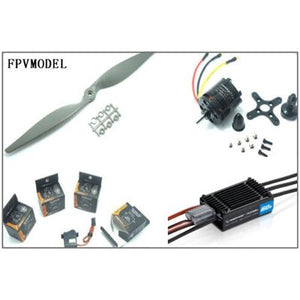 Power Combo for New Skywalker 1680 EPO/Skywalker 1880 Condor(Motor ESC Props and Servos kit)