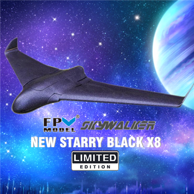 New Starry Black Limited Version Skywalker X8 Flying Wing