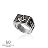Of Square Mind™ Masonic Ring