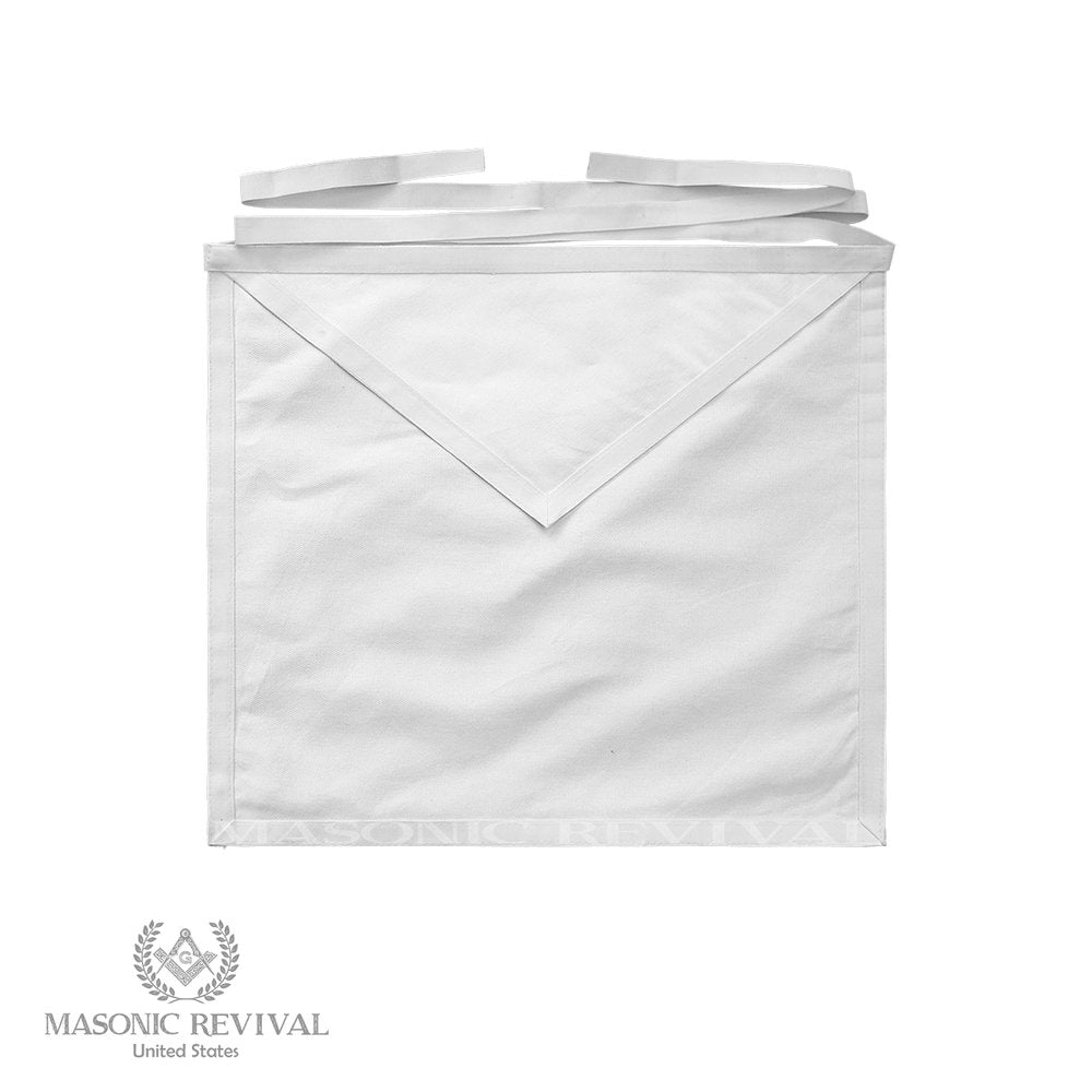 White Cotton Classic Apron (Single, Half-Dozen, Dozen)
