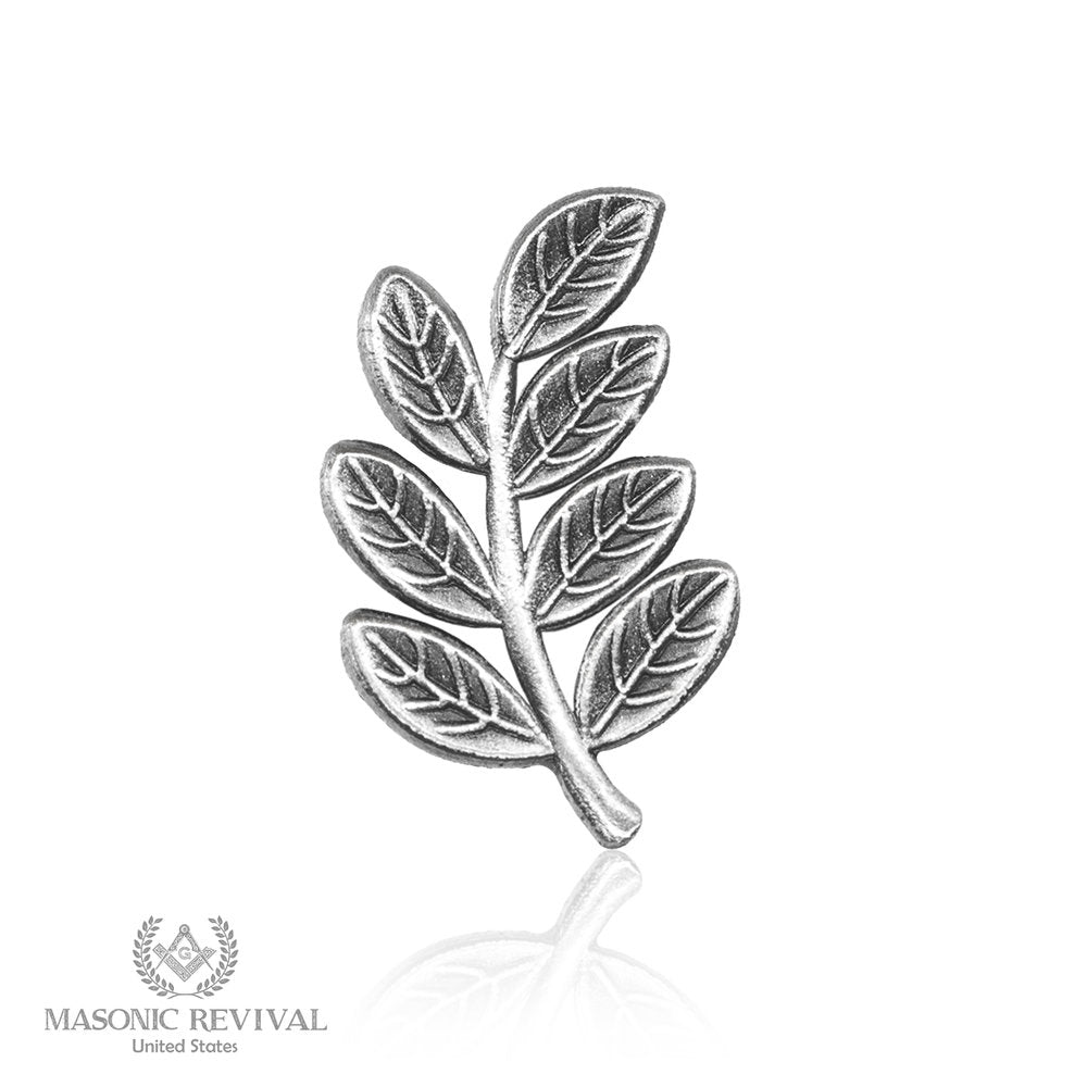 Sprig of Acacia (Antique Silver)