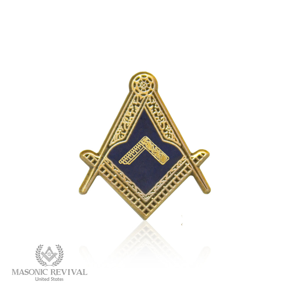 The Worshipful Master S&C Pin