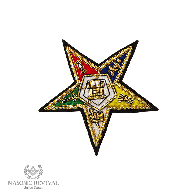 Order of the Eastern Star Embroidery Patch