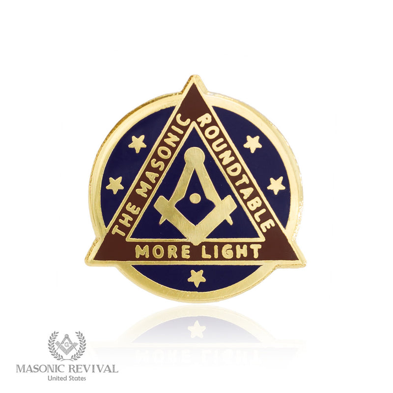 The Masonic Roundtable Lapel Pin